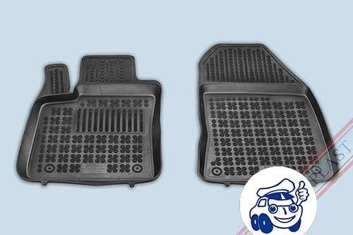200622 Ford Transit Courier 4-piezas 2014- Alfombrillas caucho 3D