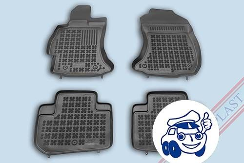 202707 Subaru Forester 2013- Alfombrillas caucho 3D